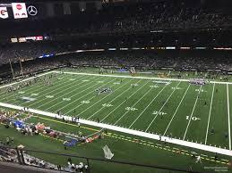 Superdome Section 509 New Orleans Saints Rateyourseats Com