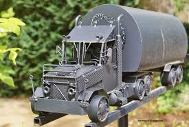 Creative mailbox ideas Funny Semi Truck And Tractor Mailbox From Pixabaycom Front Porch Ideas Creative Mailboxes Pictures Of Mailboxes Decorative Mailboxes