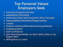 ppt flexibility adaptability managing multiple priorities top personal values