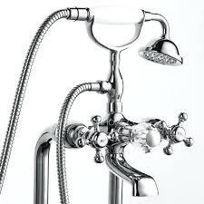 bathtub and shower faucet vintage copper sitting type silver freestanding bathtub shower faucet bath shower mixer