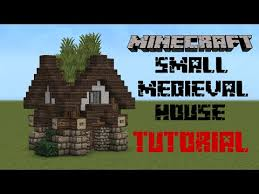 Small Picture Minecraft Medieval house tutorial YouTube Minecraft