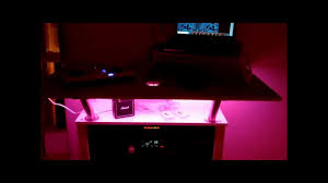 expedit lighting. Extended IKEA EXPEDIT DJ Table Incl. LED COLOR CHANGE (IKEA DIODER) - YouTube Expedit Lighting G