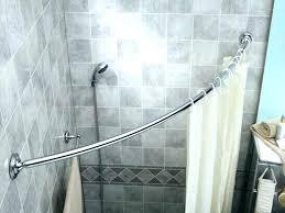 corner shower rods corner shower rods corner shower rod shower curtain rod for corner shower curved