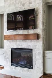 fireplace stone tile contemporary your wall s finish consider this important detail with within 3