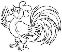 Small Picture Spectacular Idea Rooster Coloring Page Printable Rooster Coloring