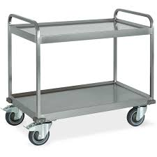 Stainless Steel Shelves Metalcarrelli Heavy Duty Stainless Steel Service Trolleys Deep
