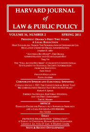 harvard journal of law public policy volume issue pages  harvard journal of law public policy volume 34 issue 2 pages 421