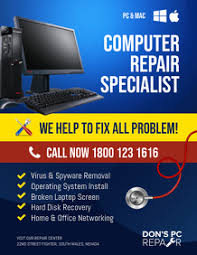 Computer Repair Flyers Magdalene Project Org