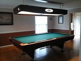 amazing pool table lights for tables ideas