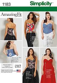 Plus Size Patterns Fascinating Amazon Simplicity Patterns US48BB Misses' And Plus Size