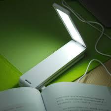 16 led foldable portable recble reading desk table lamp light folding for study home office