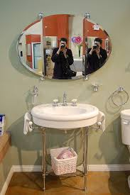 1940 Bathroom Design Magnificent A Vanity For The Black And White 48s Bathroom 48day Gut