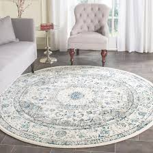 6 ft round rug. Awesome 9 Ft Round Rugs 6 Evoke Grayivory X Area Rug Designs O