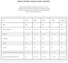 Climbing Shoe Size Chart Www My Wedding Guide De