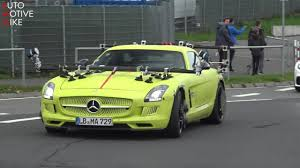 2 door automatic petrol coupe. Mysterious Mercedes Sls Amg Electric Drive Spied In Motion