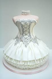 Special Ballet Dress Cake Design Unique Tea Party Bridal Shower