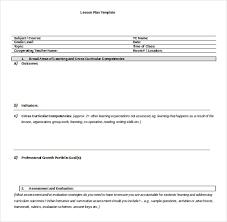 Ms Word Lesson Plans 11 Microsoft Word Lesson Plan Templates Free Premium Templates