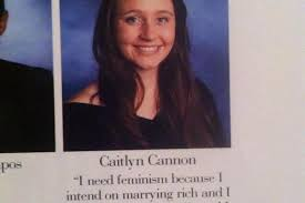 Feminist Quotes Impressive People Are Loving This Woman's Killer Feminist Yearbook Quote