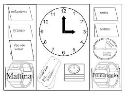 Lapbook Il Tempo