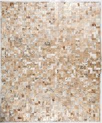 bloc gold modern leather area rug jpg