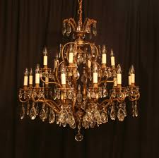a large italian 19 light antique chandelier 244354