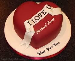 Birthday cake images write name ~ Birthday cake images write name ~ Write name on birthday cake for husband birthday cookies cake