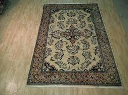 area rug 7 x10 rugs x 10 wool cream apricot rustic traditional carpet