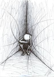 Image result for sadness drawing