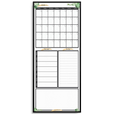 Multi Year Planner Reusable Slim Line Calendar Weekly Planner To Do List And Message Board Greenery