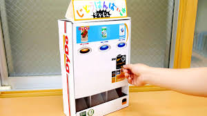dido drinko is distributing realistic vending machines free of mini cans comes up when assembling by myself and pushing ons