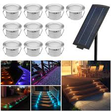 Solar Powered Outdoor Lights For Steps