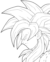 Small Picture Goku Coloring Pages marbal