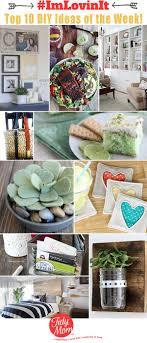 the top 10 bright diy ideas of the week imlovinit at tidymom net crafts