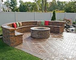 how to build an outdoor fire pit love the outdoor fire pit with the stone sitting