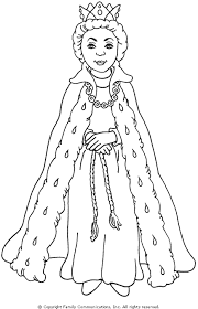 Check out our queen coloring page selection for the very best in unique or custom, handmade pieces from our digital shops. Pbs Kids Mister Rogers Neighborhood Queen Sara Coloring Page Princess Coloring Queen Drawing Coloring Pages