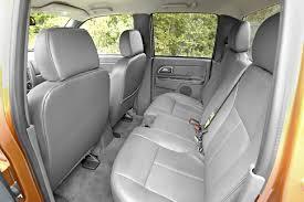 2008 chevrolet colorado crew cab rear seats picture