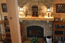 fire place and stone wonderful stone fireplace tumbled stone fireplaces images