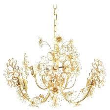 ikea flower chandelier flower chandelier gilt brass and glass for glass flower chandelier ikea white flower chandelier
