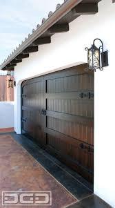 dynamic garage doorsSpanish Colonial Wood Garage Doors CustomMade in Orange County