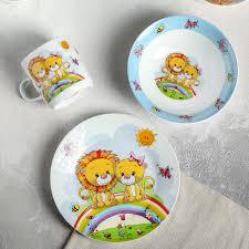 Купить Набор детской посуды «Львята», 3 предмета: кружка 250 ...