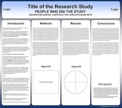 Scientific Research Poster Template A2 Size Poster Presentation Template Free Powerpoint Scientific