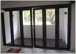 image of simple balcony sliding glass doors