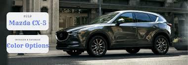 Mazda Cx 5 Trim Comparison Chart What Are The Color Options For The 2019 Mazda Cx 5