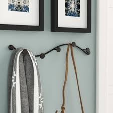 Coat Rack Hanging Wall Mounted Coat Racks Wall Hangers You'll Love Wayfair 47