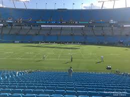 Bank Of America Stadium Section 111 Rateyourseats Com