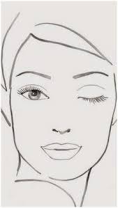 printable face charts elegant free printable makeup face charts makeup vidalondon of printable face charts fabulous