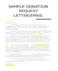 Contribution Letter Memorial Letter Template