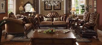 Velvet Living Room Furniture Acme Dresden Sofa Wood Trim Golden Brown Velvet O Usa Furniture Online