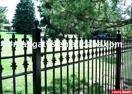 iron garden fence decorative metal garden gates metal garden fences decorative metal garden fence china fencing