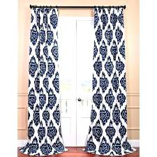 navy patterned curtains medium size of blue designs print ds cu blue print curtains exclusive fabrics printed